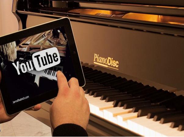 נגן דיסק לפסנתר